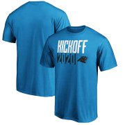 Wholesale Cheap Carolina Panthers Fanatics Branded Kickoff 2020 T-Shirt Blue
