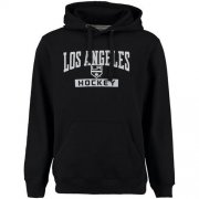 Wholesale Cheap Los Angeles Kings Rinkside City Pride Pullover Hoodie Black