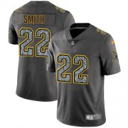 Wholesale Cheap Nike Vikings #22 Harrison Smith Gray Static Youth Stitched NFL Vapor Untouchable Limited Jersey