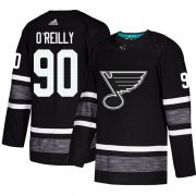 Wholesale Cheap Adidas Blues #90 Ryan O'Reilly Black Authentic 2019 All-Star Stitched NHL Jersey