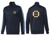Wholesale Cheap NHL Boston Bruins Zip Jackets Dark Blue-2