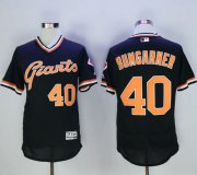 Wholesale Giants #40 Madison Bumgarner Black Flexbase Authentic Collection Cooperstown Stitched Baseball Jersey