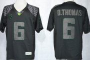 Wholesale Cheap Oregon Ducks #6 DeAnthony Thomas 2013 Lights Black Out Limited Jersey