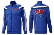 Wholesale Cheap NFL Tampa Bay Buccaneers Team Logo Jacket Blue_2