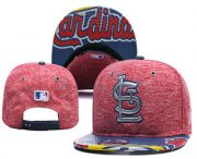 Wholesale Cheap MLB St. Louis Cardinals Snapback Ajustable Cap Hat 2