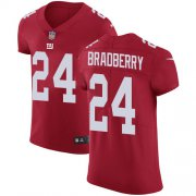 Wholesale Cheap Nike Giants #24 James Bradberry Red Alternate Men's Stitched NFL New Elite Jersey