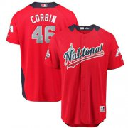 Wholesale Cheap Diamondbacks #46 Patrick Corbin Red 2018 All-Star National League Stitched MLB Jersey