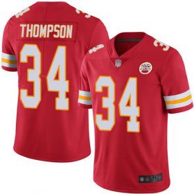 Wholesale Cheap Nike Chiefs #34 Darwin Thompson Red Team Color Youth Stitched NFL Vapor Untouchable Limited Jersey