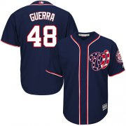 Wholesale Cheap Nationals #48 Javy Guerra Navy Blue New Cool Base Stitched Youth MLB Jersey