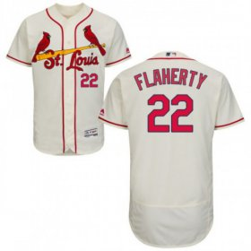Wholesale Cheap Cardinals #22 Jack Flaherty Cream Flexbase Authentic Collection Stitched MLB Jersey
