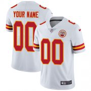 Wholesale Cheap Nike Kansas City Chiefs Customized White Stitched Vapor Untouchable Limited Youth NFL Jersey