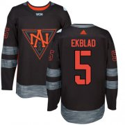 Wholesale Cheap Team North America #5 Aaron Ekblad Black 2016 World Cup Stitched Youth NHL Jersey