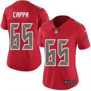 Wholesale Cheap Nike Buccaneers #65 Alex Cappa Red Women's Stitched NFL Limited Rush Jersey