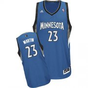 Wholesale Cheap Minnesota Timberwolves #23 Kevin Martin Blue Swingman Jersey
