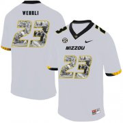 Wholesale Cheap Missouri Tigers 23 Roger Wehrli White Nike Fashion College Football Jersey