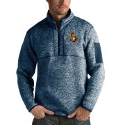 Wholesale Cheap Ottawa Senators Antigua Fortune Quarter-Zip Pullover Jacket Royal