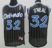 Wholesale Cheap Men's Orlando Magic #32 Shaquille O'neal Black Stitched NBA Nike Swingman Jersey