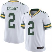 Wholesale Cheap Nike Packers #2 Mason Crosby White Men's Stitched NFL Vapor Untouchable Limited Jersey
