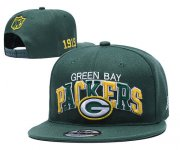 Wholesale Cheap Packers Team Logo Green 1919 Anniversary Adjustable Hat YD