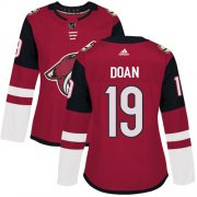 Wholesale Cheap Adidas Coyotes #19 Shane Doan Maroon Home Authentic Women's Stitched NHL Jersey