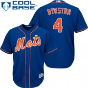 Wholesale Cheap Mets #4 Lenny Dykstra Blue Cool Base Stitched Youth MLB Jersey