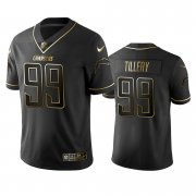 Wholesale Cheap Chargers #99 Jerry Tillery Men's Stitched NFL Vapor Untouchable Limited Black Golden Jersey
