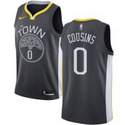 Wholesale Cheap Men's Nike Golden StateWarriors #0 DeMarcus Cousins Black NBA Swingman Statement Edition Jersey
