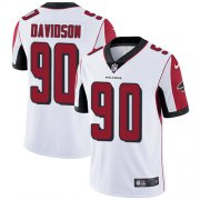 Wholesale Cheap Nike Falcons #90 Marlon Davidson White Youth Stitched NFL Vapor Untouchable Limited Jersey
