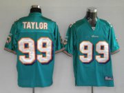 Wholesale Cheap Dolphins Jason Taylor #99 Green Stitched NFL Jersey