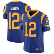 Wholesale Cheap Nike Rams #12 Brandin Cooks Royal Blue Alternate Youth Stitched NFL Vapor Untouchable Limited Jersey