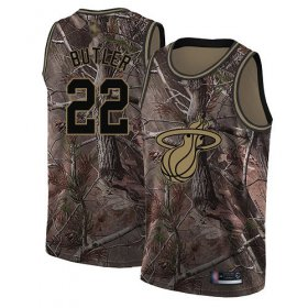 Wholesale Cheap Heat #22 Jimmy Butler Camo Basketball Swingman Realtree Collection Jersey