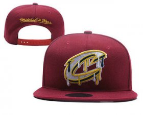 Wholesale Cheap Cleveland Cavaliers Snapback Ajustable Cap Hat YD 1