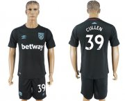 Wholesale Cheap West Ham United #39 Cullen Away Soccer Club Jersey