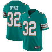Wholesale Cheap Nike Dolphins #32 Kenyan Drake Aqua Green Alternate Men's Stitched NFL Vapor Untouchable Limited Jersey