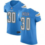 Wholesale Cheap Nike Chargers #30 Austin Ekeler Electric Blue Alternate Men's Stitched NFL Vapor Untouchable Elite Jersey