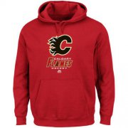 Wholesale Cheap Calgary Flames Majestic Critical Victory VIII Fleece Hoodie Red