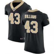 Wholesale Cheap Nike Saints #43 Marcus Williams Black Team Color Men's Stitched NFL Vapor Untouchable Elite Jersey