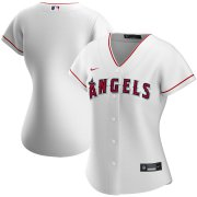 Wholesale Cheap Los Angeles Angels Nike Women's Home 2020 MLB Team Jersey White