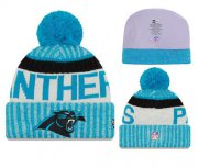Wholesale Cheap NFL Carolina Panthers Logo Stitched Knit Beanies 007
