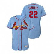 Wholesale Cheap Cardinals #22 Jack Flaherty Light Blue Flexbase Authentic Collection Stitched MLB Jersey