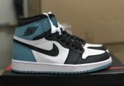 Wholesale Cheap Air Jordan 1 Retro High Shoes Aqua/Black-White