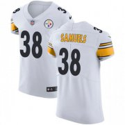 Wholesale Cheap Nike Steelers #38 Jaylen Samuels White Men's Stitched NFL Vapor Untouchable Limited Jersey