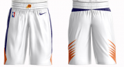 Wholesale Cheap Men's Phoenix Suns Nike White Short