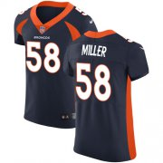 Wholesale Cheap Nike Broncos #58 Von Miller Navy Blue Alternate Men's Stitched NFL Vapor Untouchable Elite Jersey