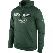 Wholesale Cheap New York Jets Nike Kick Off Staff Performance Pullover Hoodie Green