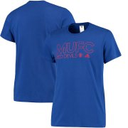 Wholesale Cheap Manchester United adidas Core T-Shirt Royal