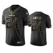 Wholesale Cheap Nike Cowboys #24 Chidobe Awuzie Black Golden Limited Edition Stitched NFL Jersey