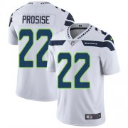Wholesale Cheap Nike Seahawks #22 C. J. Prosise White Men's Stitched NFL Vapor Untouchable Limited Jersey