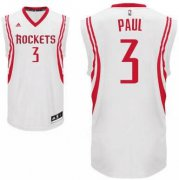 Wholesale Cheap Men's Houston Rockets #3 Chris Paul White Stitched NBA Adidas Revolution 30 Swingman Jersey
