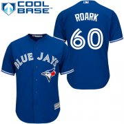 Wholesale Cheap Blue Jays #60 Tanner Roark Blue New Cool Base Stitched Youth MLB Jersey